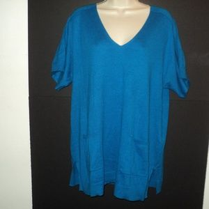 NEW Chicos Percy Pullover 2 L-XL Oversized Sweater